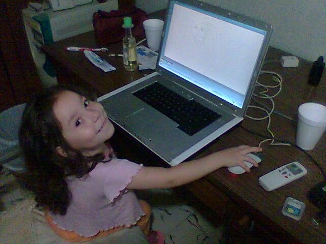 Los niños y la informática