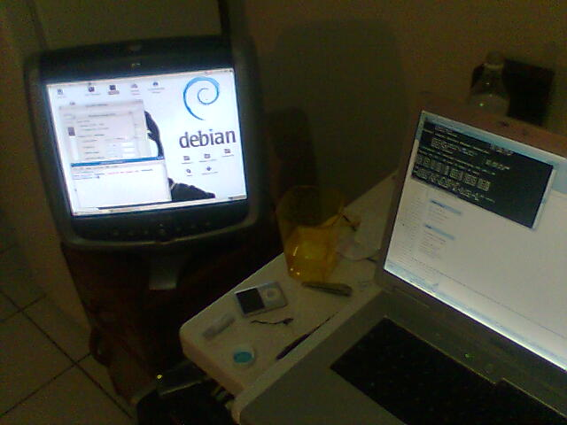 My debian box is back!