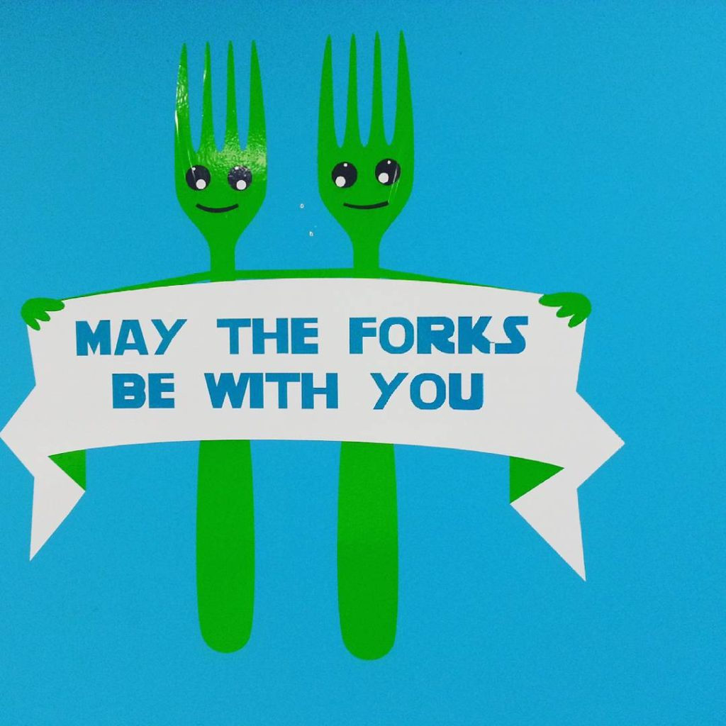 May the Forks be With You..