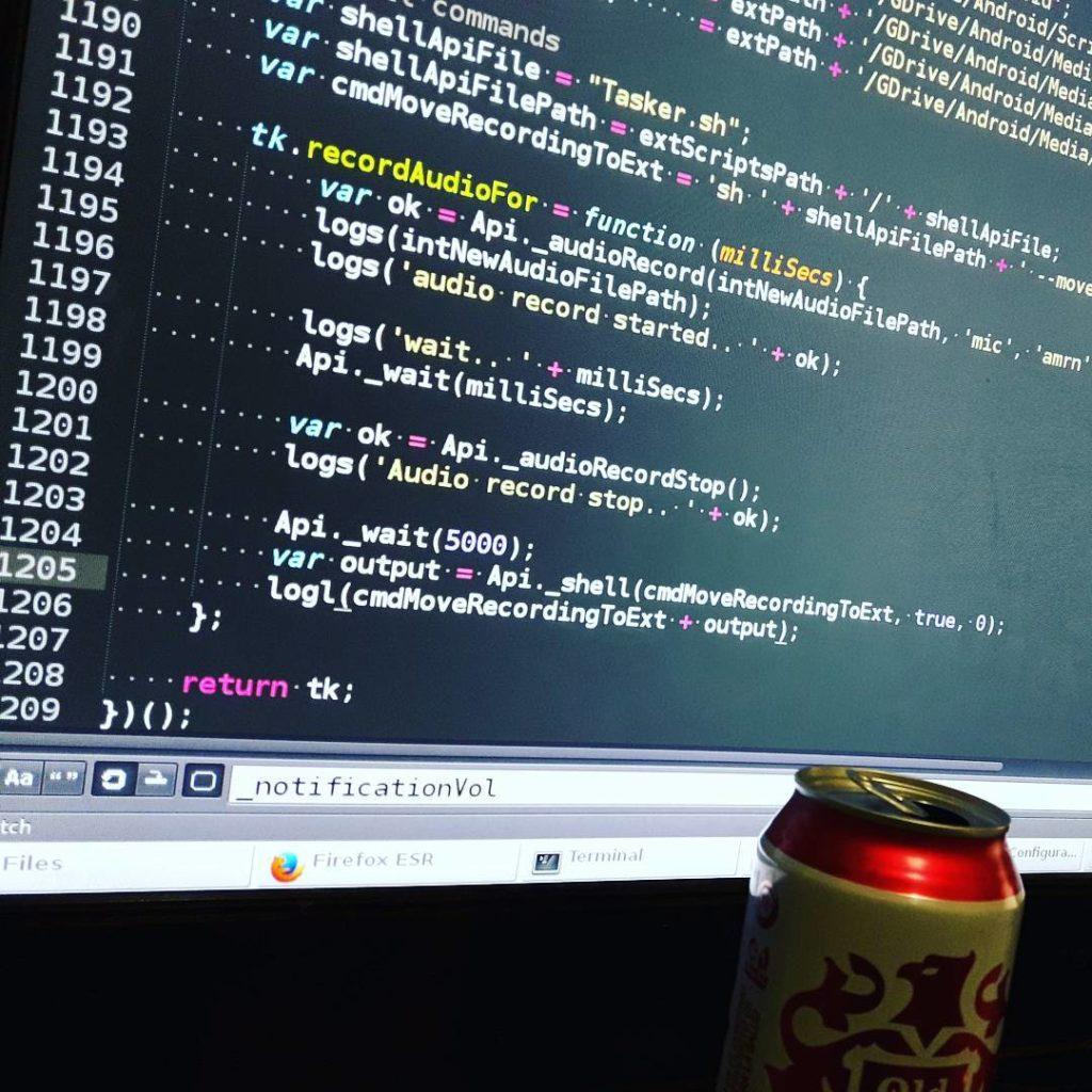 JavaScript && Old Milwaukee;