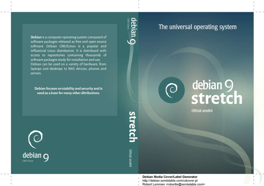 Debian Stretch..