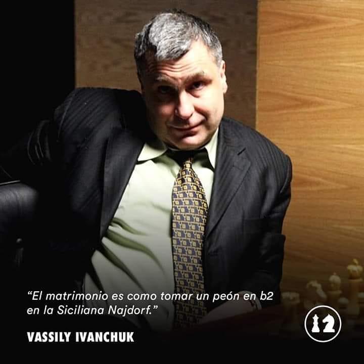 Ese Ivanchuk es un loquillo .. :D
